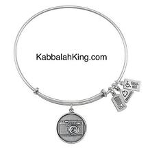 Wind & Fire Camera Disk Charm Silver Stackable Bangle Bracelet Made In USA