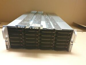 Supermicro SC846 24x SATA Storage Server Adaptec 5405