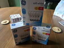 4-PACK x 3 = 12 TOTAL - GE LED 60W = 10W Soft White DIMMABLE A19 2700K E26