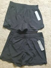2 Pair NWT mesh running casual shorts med. 1 panty liner, 1 compression liner
