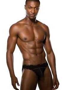 Doreanse Herren Slip Brazilian Minislip Modal Unterhose Schwarz DA1215
