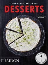 Italien Cuisson School : Desserts pour le Silver Cuillère Cuisine Livre de Poche