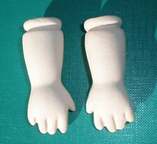 dolls lower arms porcelain 2""