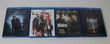 BLU RAY LOT OF 4 FROM PARIS WITH LOVE - THE DARK KNIGHT - THE DEPARTED - DEVIL