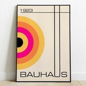 Bauhaus Inspired Art Print, Shapes Art, Wall Art, Abstract Art, Home Decor
