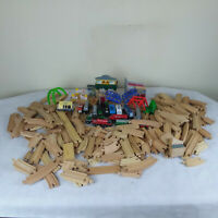 Wooden Train Track Magnetic Trains, Thomas, Melissa Doug,  ~ 150 + Pieces