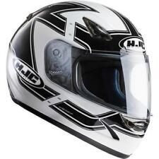 Casques blancs HJC moto pour véhicule taille XS