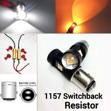 Brake Light 1157 3496 7528 BAY15D 3030 Amber 3020 White Switchback LED K1 HAK