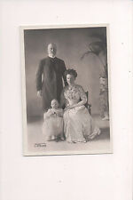 Small  Postcard Queen Wilhelmina & Prince Henry Netherlands & Family