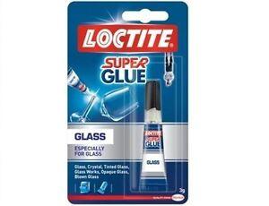 LOCTITE Super Glue - Glass Bond Adhesive - 3g Tube