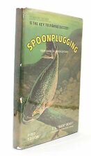 New listing Spoonplugging Your Guide to Lunker Catches Elwood Buck Perry Vtg Signed Fishing