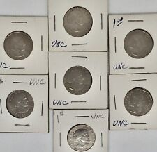 Lot Of 7 UNC Susan B Anthony Silver Dollar Dollars 1979 Uncirculated