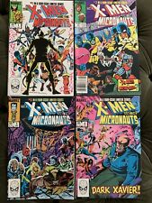 X-Men and the Micronauts Limited Series #1-4 (1983) NM Key!!