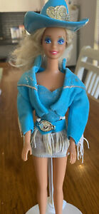Fashion Play Barbie Doll in 1993 Western Stampin' Barbie Outfit - Mattel
