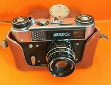 Vintage foto Camera FED ФЭД-5С with  case