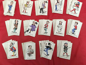 A Set Of Victorian Snap Playing Cards