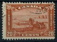 Canada 1930-1931 SG#301, 20c Red Harvesting With Tractor Used #E84847