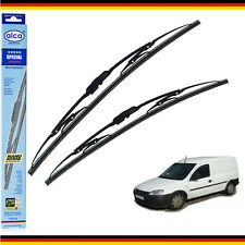 "VAUXHALL COMBO C 2001-11 windscreen wiper blades alca SPECIAL SET OF 2 20""17""H"
