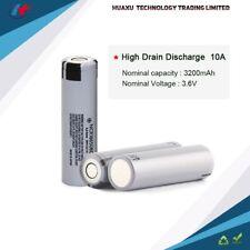 PANASONIC NCR18650BD 3.7V 3200mAh 10A High Drain Rechargeable battery