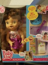 BABY ALIVE My Baby All Gone 2013 HASBRO INTERACTIVE English Spanish SEALED HTF