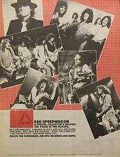 REO Speedwagon Vintage & Rare 1970s Promotional Ads Collection