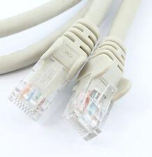 50cm Rj45 Ethernet Cable Cat6 Fast Gigabit parche Plomo Lan Red Cat 6 Gris