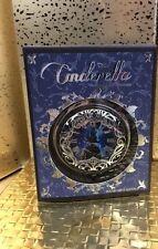 Sephora Disney Collection Cinderella Clock on Front, Compact Mirror, Silver NEW