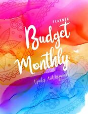 Monthly Budget Planner Weekly & Monthly Expense Tracker OrganizerBudget Plann...