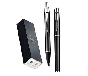 Parker IM Gift Set with Ballpoint Pen & Rollerball Pen + Parker Gift Box