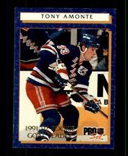 1992-93 Pro Set Rookie Goal Leaders #1 Tony Amonte (ref 97689)