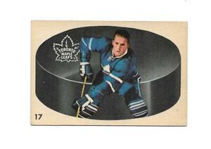 1962-63 Parkhurst:#17 Larry Hillman,Maple Leafs