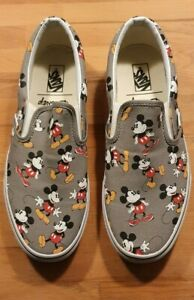 Vans x Disney Classic Slip-On Mickey Mouse Limited Edition *wie neu* 44 Sneaker