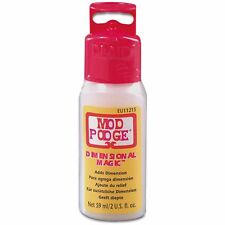 Mod Podge Dimensional Magic Clear Decoupage Add Special Effects Paint Dyes 59 ml
