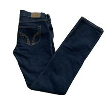 Holister Womens Denim Stretch Dark Blue Skinny Jeans Size 5R