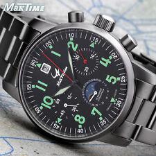 US MAKTIME Poljot Chronograph 31679 Russian Aviator mechanical Pilot's watch
