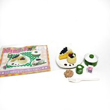 Megahouse RARE Miniature Cafe De Cake #3 Re-ment Cake Cream Sugar Dessert A37
