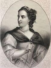 Mademoiselle Clairon (1723-1803) Comédie-Française Van Loo - E Gervais 1863