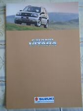 Suzuki Grand Vitara brochure Apr 1998