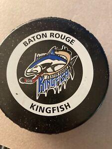 BATON ROUGE KINGFISH VINTAGE EAST COAST HOCKEY LEAGUE ECHL OFFICIAL GAME PUCK