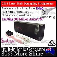 Genuine ShowCharm Ionic Electric Hair Straightener Brush Comb NASV Ugraded LCD