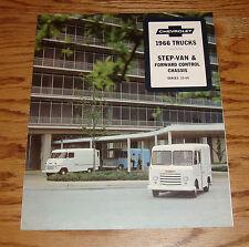 Original 1966 Chevrolet Step-Van & Forward Control Chassis Sales Brochure 66