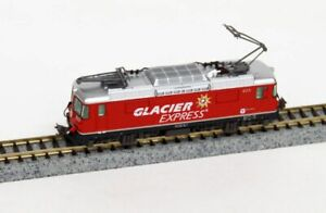 Kato 3102-2 Alpine Locomotive Ge4/4 II Glacier Express (N scale)