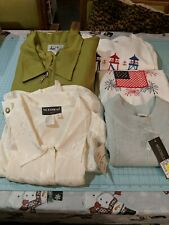 Plus Lot 6 Women's Clothes Tops  + suit, NWT, sportswear, dress 1-2x, 20