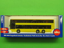 Siku 1884 MAN Doubledecker Public Service Bus Berlin H0 Diecast Scale 1:87 (A2)