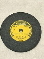 Norton A60 05vg Wheel 6x34x12