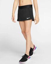 Authen Nike Court Girls Tennis Skirt Skorts Black Shorts Childs Sport sz.6-8 yrs