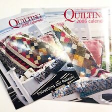 Better Homes U0026 Gardens American Patchwork Quilting 2006 Calendar WITH  PATTERNS