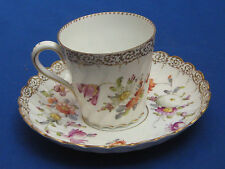 Tableware c.1840-c.1900 Dresden Porcelain & China