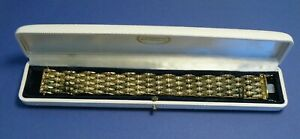 Schönes Armband Gold 333 (8K)  ca. 19 cm lang  Breite: ca. 2,4 cm  ca. 35 Gramm