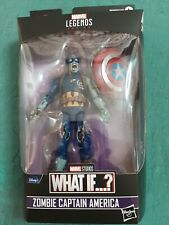 MARVEL LEGENDS WHAT IF...? ZOMBIE CAPTAIN AMERICA NEW WITH BAF PIECE